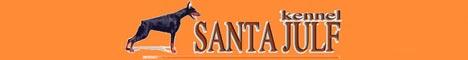 Питомник доберманов Санта Юлф